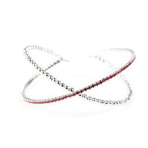 Chicly Crisscrossed Red Cuff Mix and Match